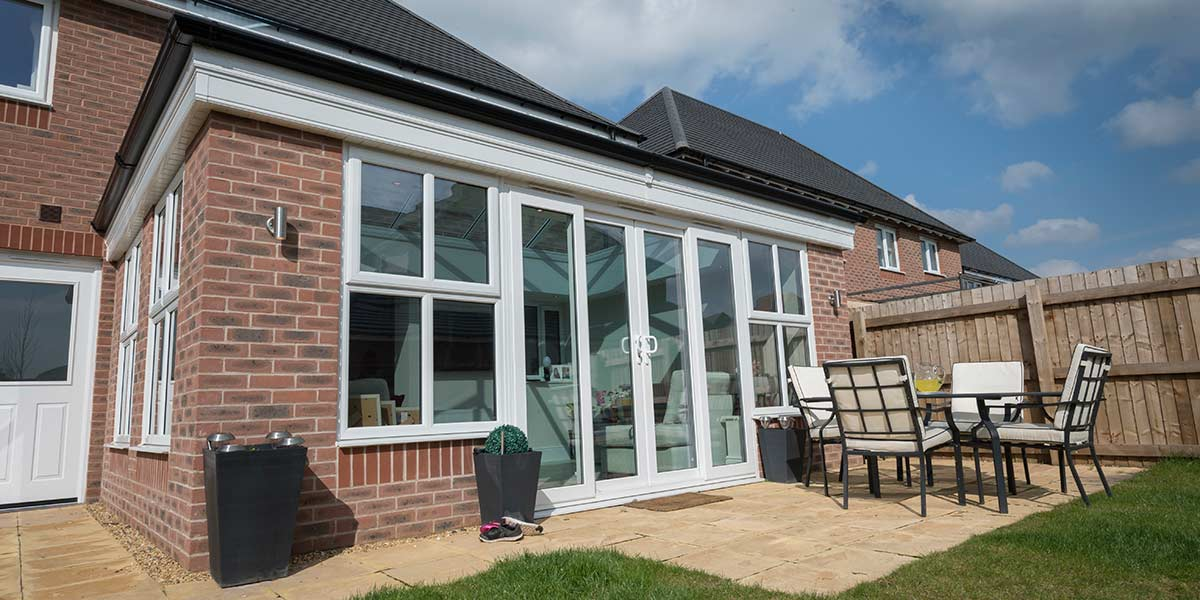 Modern Glass Roof Orangery Design